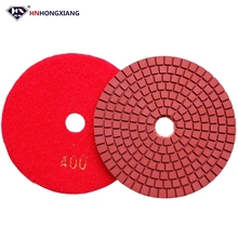 wet marble concrete granite floor buffing disc diamond polishing pad