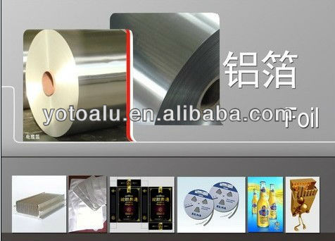 aluminium foil roll for food container