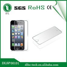China Supplier perfect clear Mobile phone use tempered glass screen protector for iphone 4