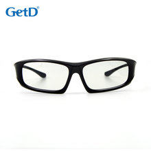 Circular polarized 3D Glasses matched to work in home or traditional theaters