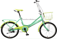 "CHEAP 20""FOLDING BIKE WITH BASKET FROM CHINA"