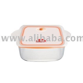 Food storage glass container 1000ml