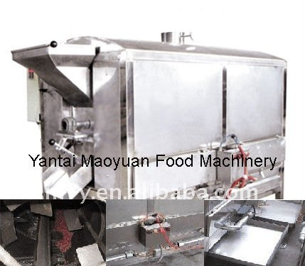 KLQ nut roasting equipment for peanut, cashew nut, pistachio, Chinese chestnut