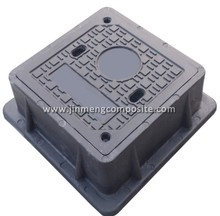 700mm electrical power manhole cover die casting grate with CE certificate
