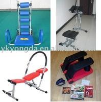 AB roller Fitness equipment as seen on TV