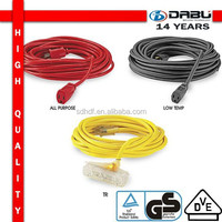 Flat Multiple Bulk USA Standard Insulated Extension Cord