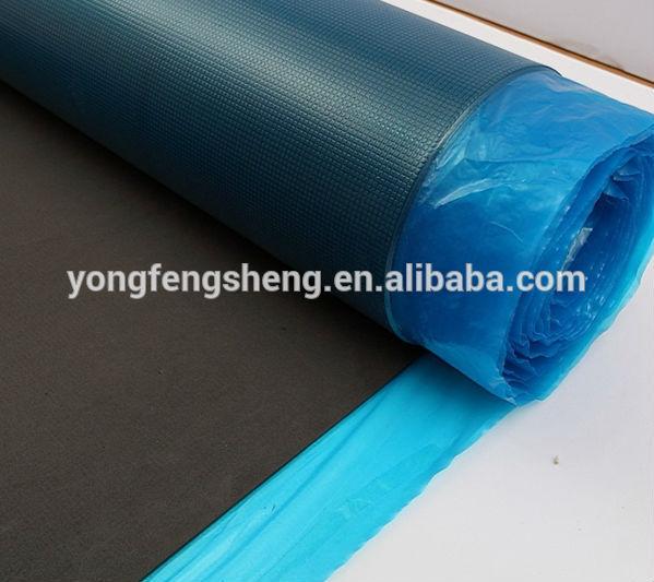 Black Eva Silent Silver Vapor Barrier Flooring