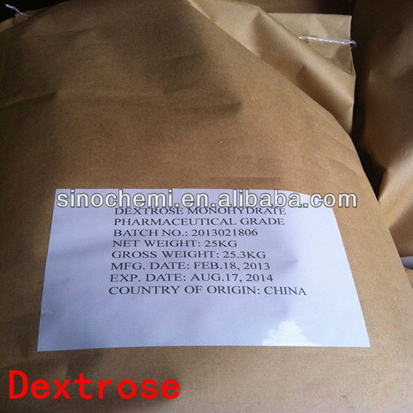 High Purity Food Grade organic dextrose with low price for candy & Beverage