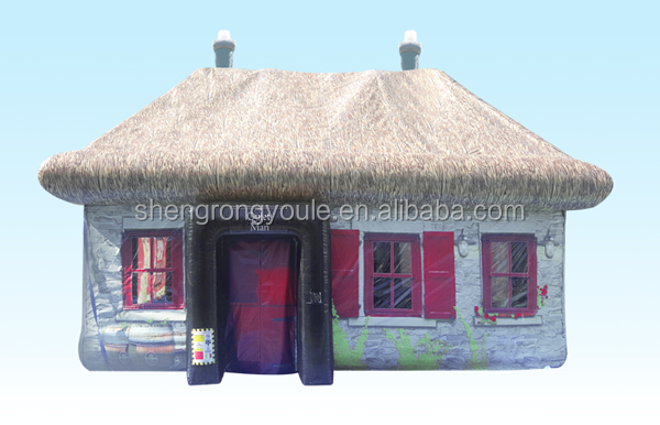 Giant ourdoor tent pub table inflatable irish bar tent inflatable pub for sale