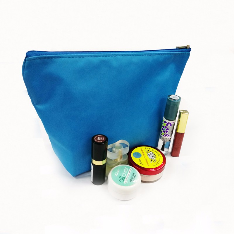 Oxford reusable bule toiletry bag