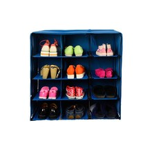 JYSK wholesale non woven fabric folding door shoe storage rack