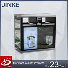 JINKE Christmas Hot Sell Big Belly Solar Compactor Street Bins with LED Light