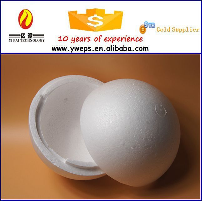 YIWU foam craft all various size decoration DIY hollow ball