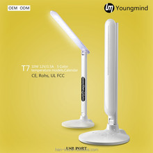 led foldable usb rechargeable table/desk lamps