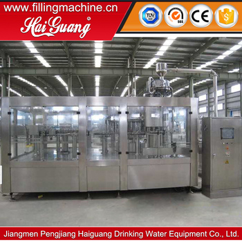 High quality drinking water production factory/water encapsulate filling machine