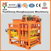 Best selling product in Kenya QTJ4-28 Concrete Raw Materials Hollow Block & Brick Machine Factory Price