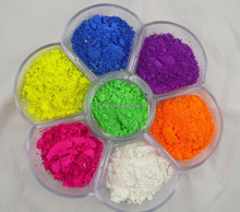 Fluorescent Pigment color powder for ink, painting, coating