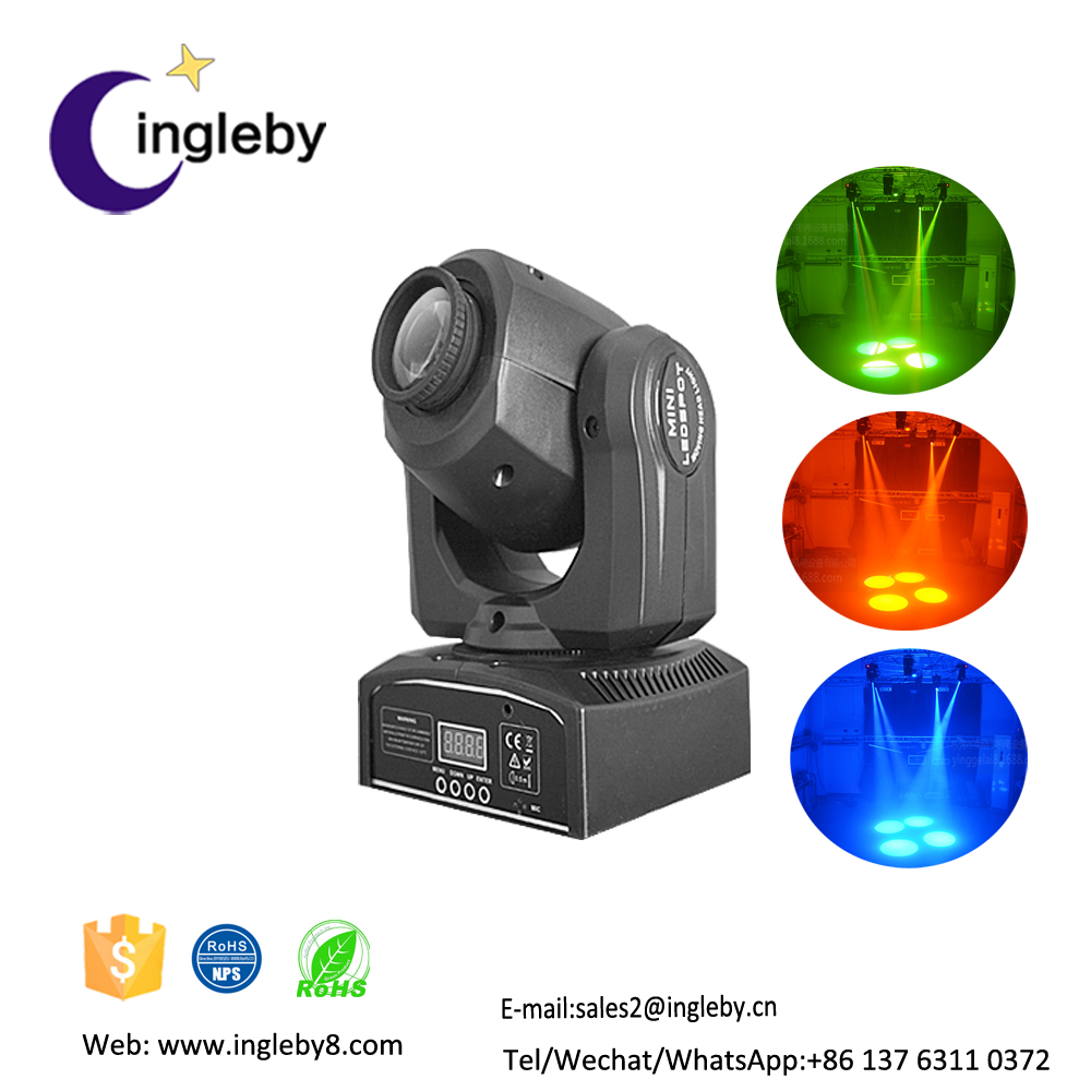 Online shopping10W spot led moving head stage light/moving head professional dj stage lighting system for disco party night club