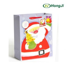 Glossy Paper Unique Design New Design Christmas Gift Paper Bag