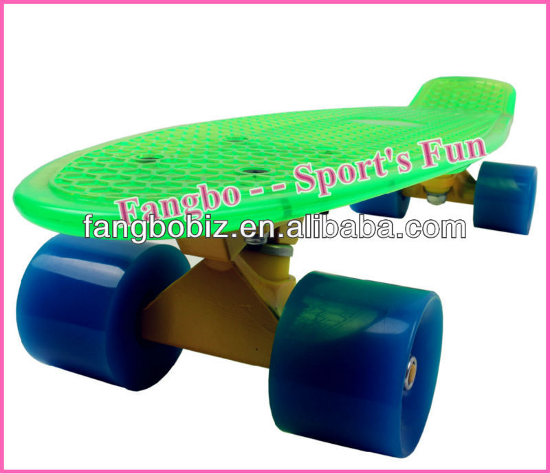 "Classical Penny Board Cruiser 22""X6"" with colorful truck and PU wheel (CE & ASTM Certificated)"