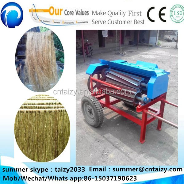 Professional automatic hemp flax peeling machine Hotsell flax peeler machine