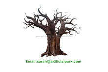 artificial plant/artificial plants and trees/artificial decorative dry trunk ficus tree planter