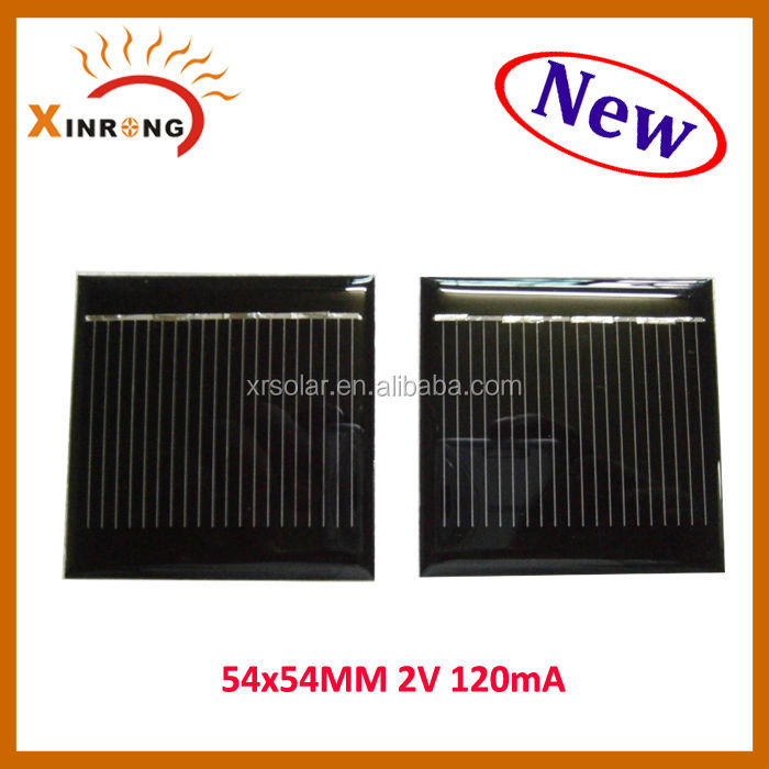 2v 120mA 54x54mm 2v Mini Epoxy Solar Panel
