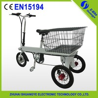 2015 hot sale cheapest adult 3 wheel electric bicycle fold