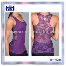 2013 new fashion sexy hot black lace boob tube seamless top for women