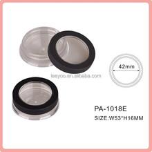 PA-1018E high quality eyeshadow palette cosmetic jar plastic jar
