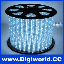 Waterproof Outdoor Color Cheap LED Strip Light with Flat Three-wire