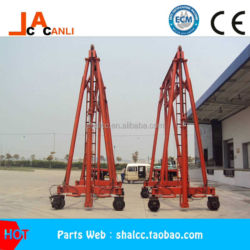 2017year 30-40T mast mobile container crane