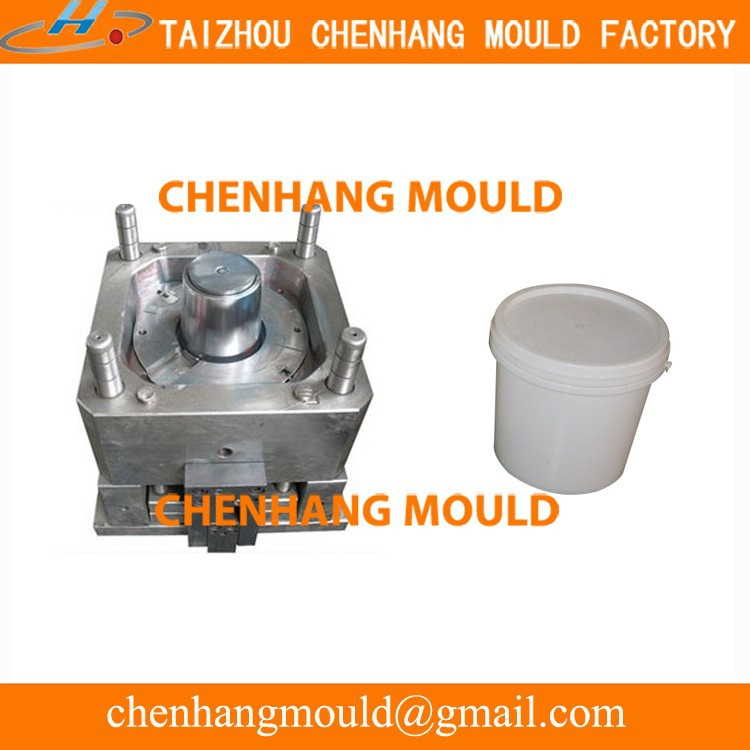 20L, 15L, 10L Paint Bucket Plastic Molds Manufacturer