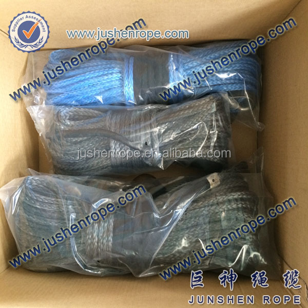 Super quality hot sale 12mm winch rope hmpe