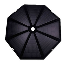 High Conversion Best Quality Folding 40W waterproof umbrella Solar Charger