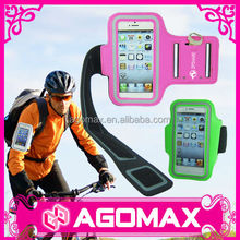 Custom made multi-use washable PU sport smartphone armband case