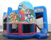 2016 hot sale inflatable Mickey mouse bouncer made in China Z1056
