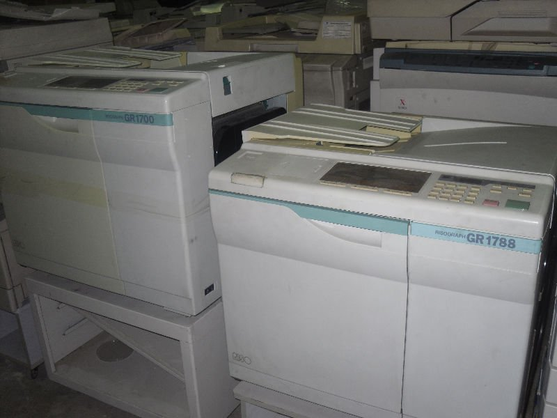 Used Risographic Duplicator