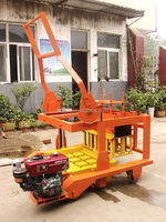 Export Ghana Market Brick Machine(Diesel Egg Laying Machine)