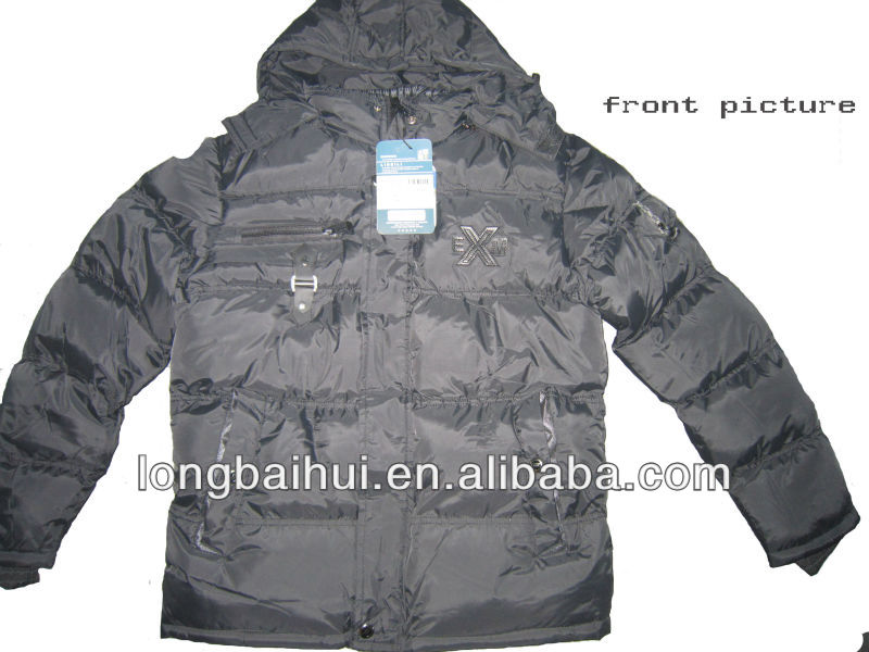 cheap winter jacket black design man blazer jacket stock lots apparel