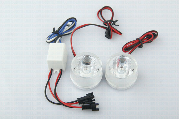 2w led motorcycle light/decorative Lamp with red,blue,green,pink color for motorcycle