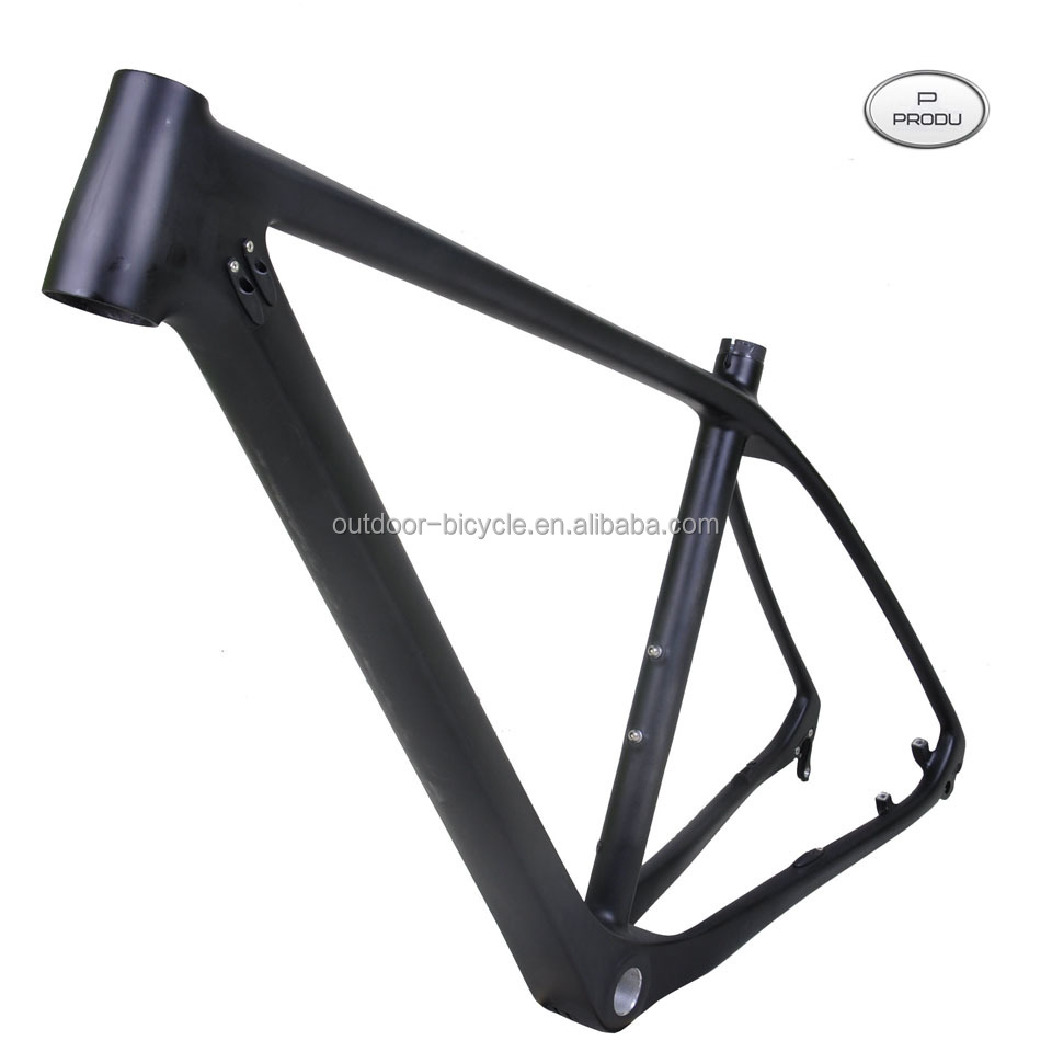"Baolijia Full Carbon UD Matt Matte MTB 29"" Wheel Mountain Bike Bicycle 29ER BSA Frame -17"", 19"""