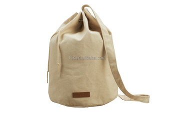 Cheap 16A Canvas One Strap Backpack Drawstring