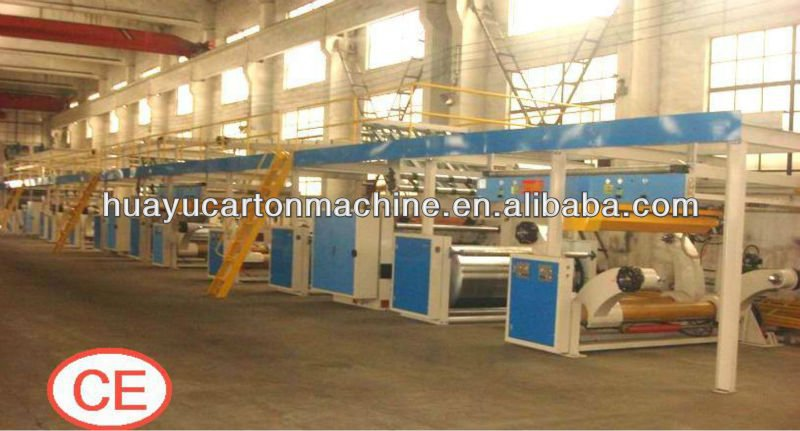 3/5ply corrugated cardboard production line