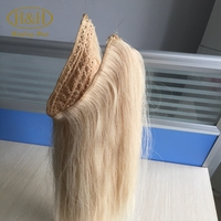 Wholesale price hot sale high quality brazilian human hair fish wire hair extension