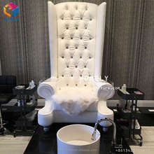 wholesale cheap luxury australia portable whirlpool manicure king throne pedicure bench station spa pedicure chair no plumbing
