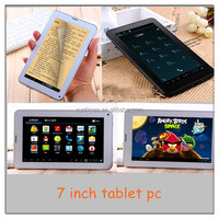 7 inch Dual core 1024*600 card slot dual core 7 tablet pc mid MTK 8312