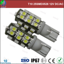 Ultra bright,T10/W5W,25smd1210,led light auto tuning
