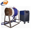 Pressure vessel PWHT post weld heating treatment stress relieving machine