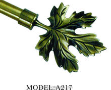 Five Leaf Finial for Curtain rod